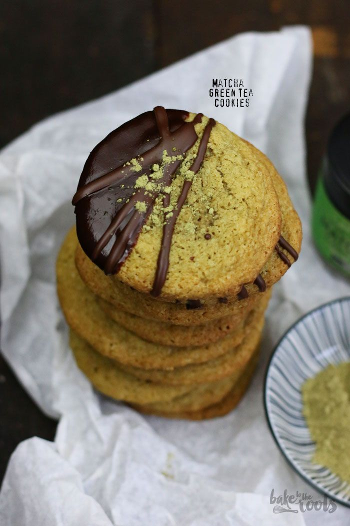 Photo of Matcha Grüner Tee Cookies | Bake to the roots