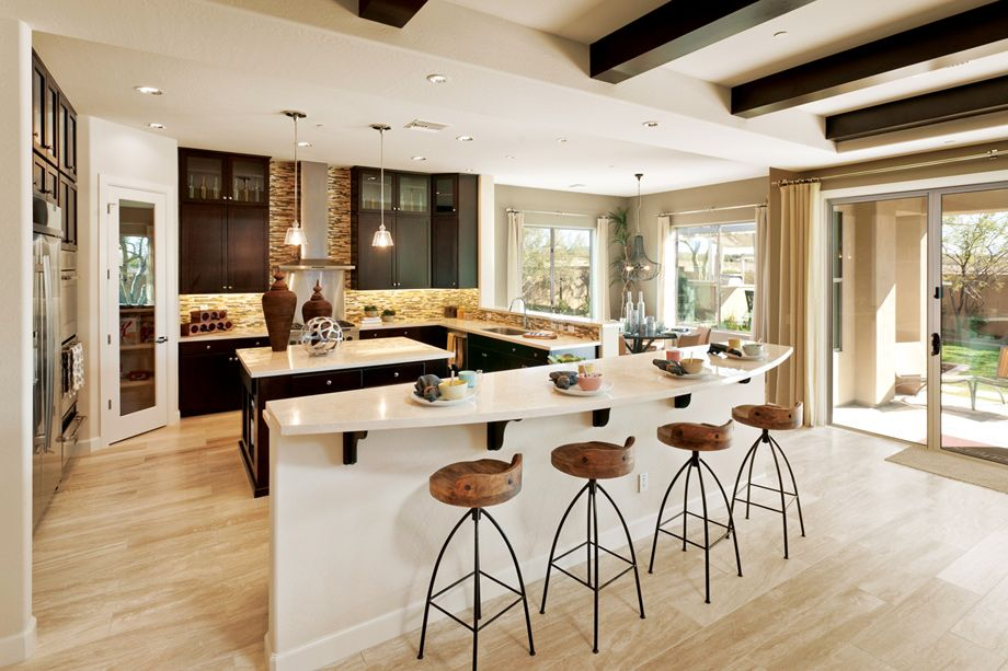 Montevista Cottonwood Collection Is An Outstanding New Home Community In Cave Creek Az That Offers A Variety Of Luxurious Kitchen Remodel Home Home Kitchens