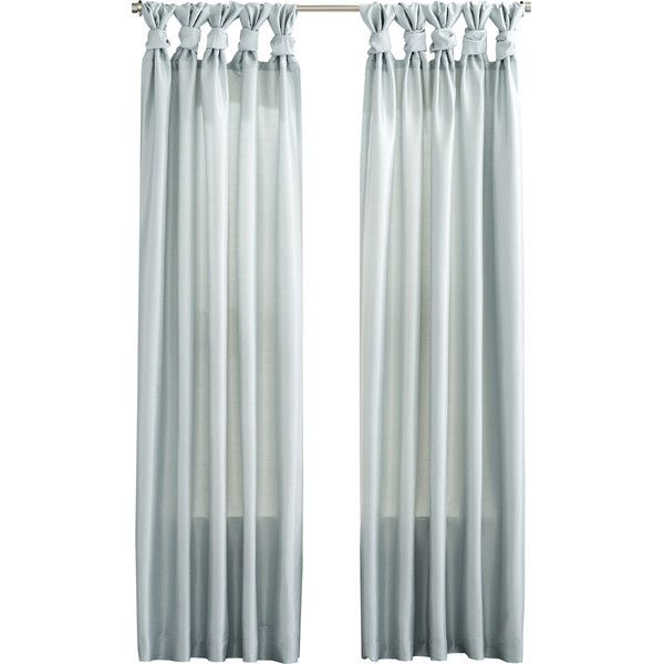 Sheer Twist Tab Curtain Panel Joss Main With Images Panel