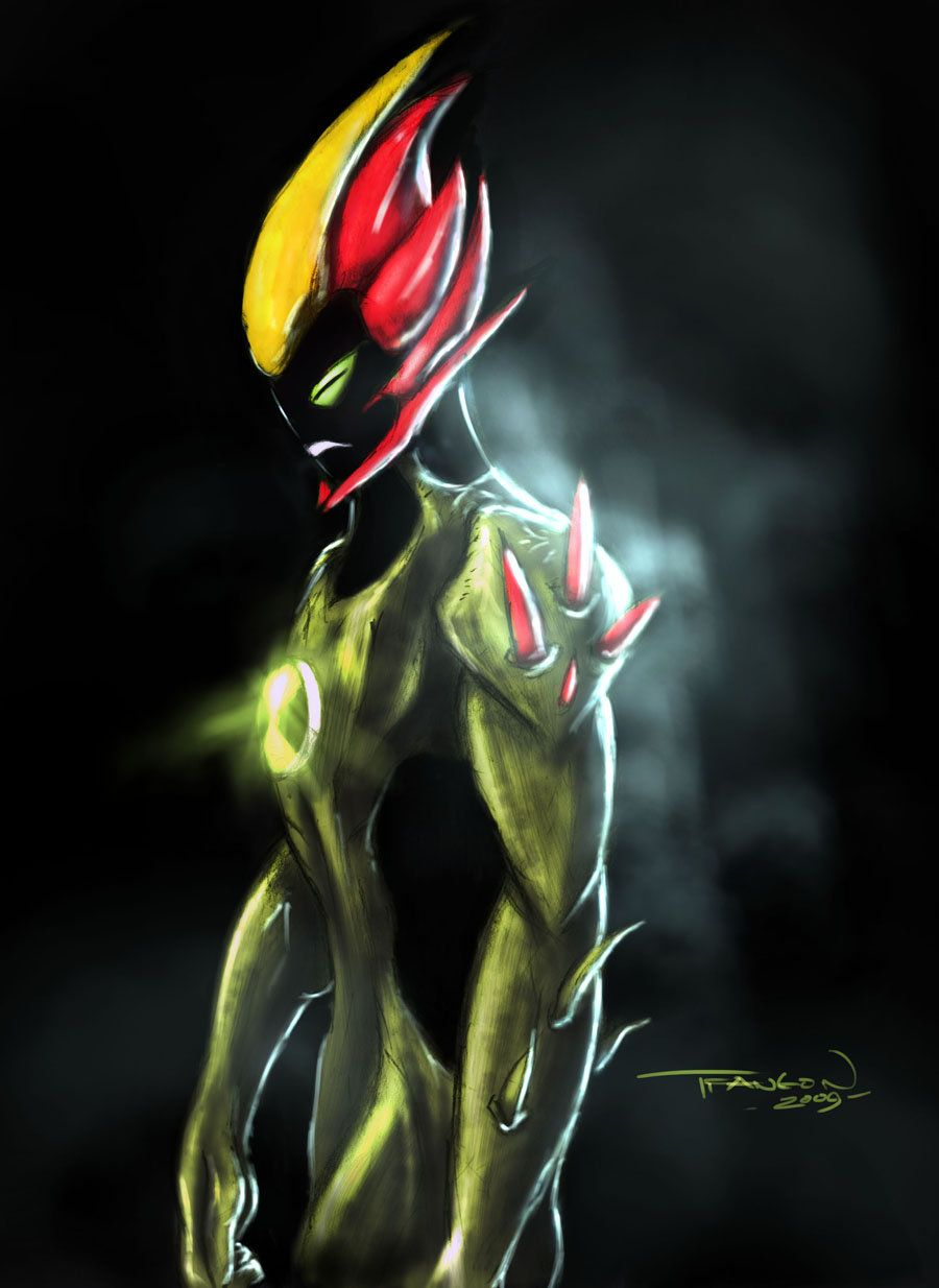 Swampfire colors by arukun14 on deviantart ben 10 - Jeux b10 alien force gratuit ...