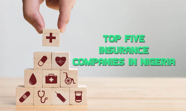 You see, the list of the top five insurance companies in