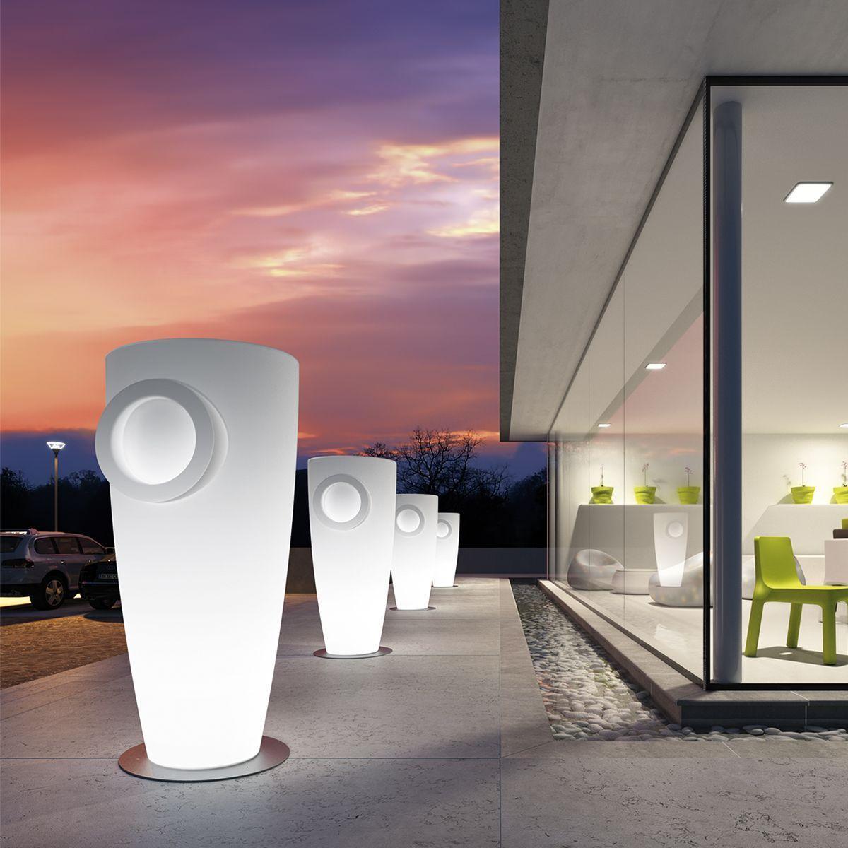 Humphrey Italian Illuminated Designer Planter Planter Design Design Light
