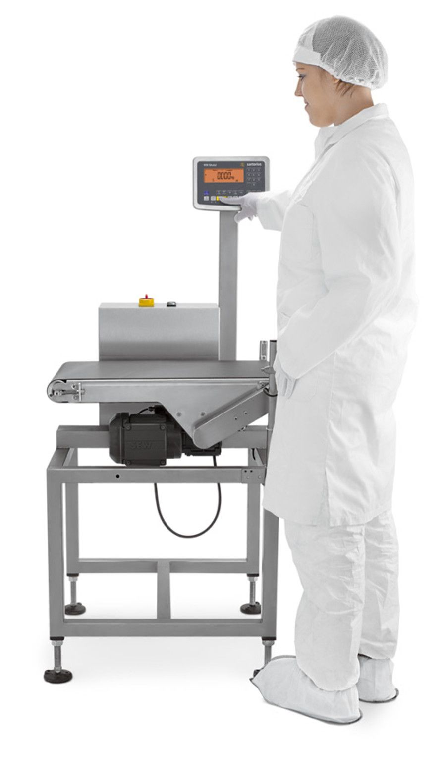 Checkweigher WM is ideal for weighing in motion to check