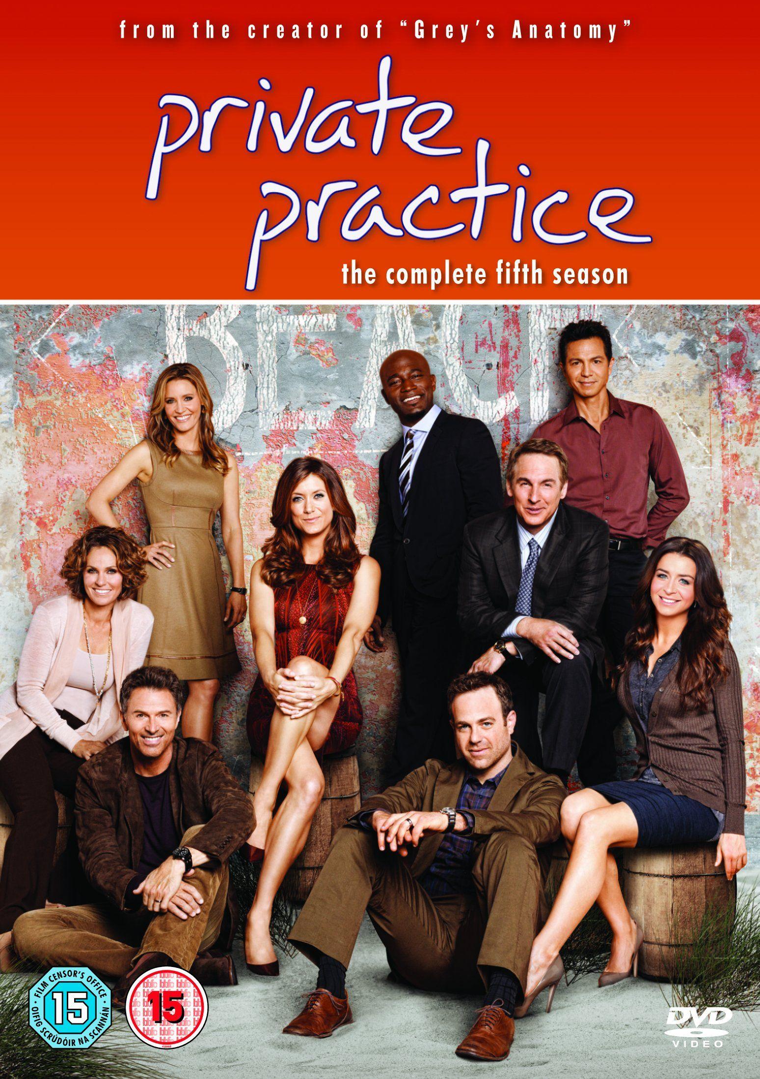 Private Practice - Season 5 [DVD]: Amazon.co.uk: Kate Walsh, Tim ...