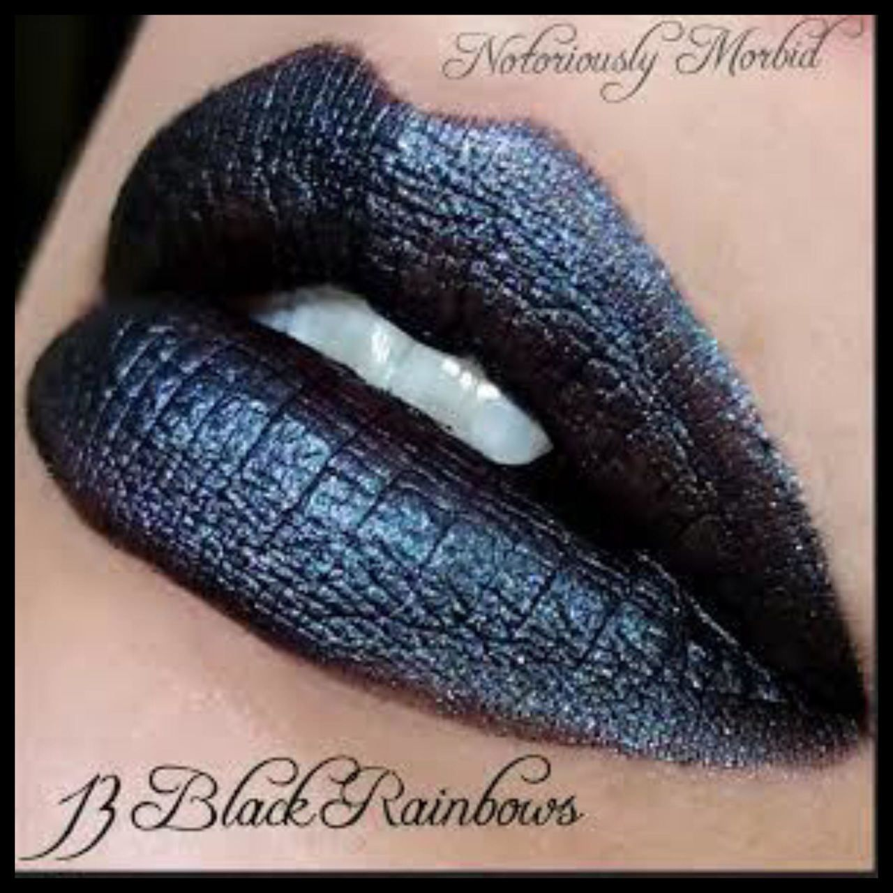 13 Black Rainbows Mystic Matte Face Gems Gloss Lipstick Glossy