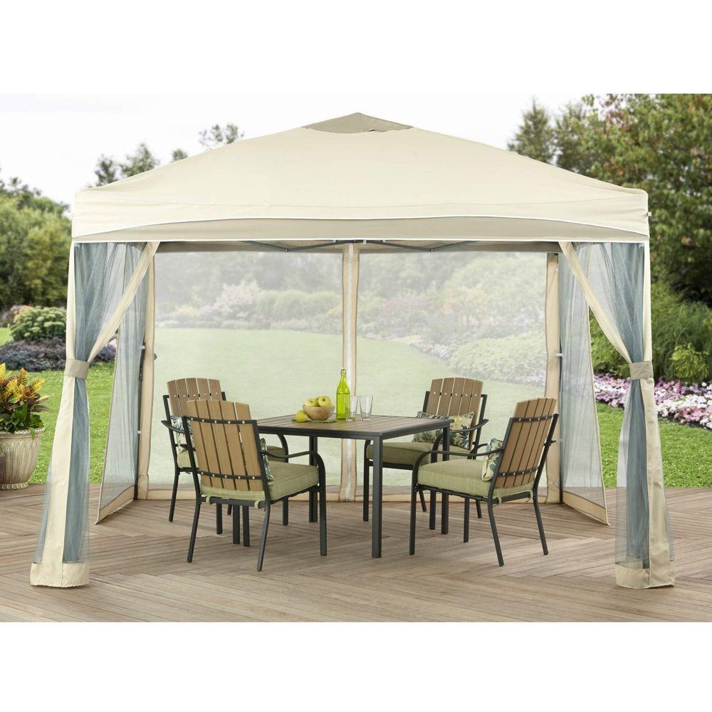Kiosk Outdoor Gardens Sunshade Tent 10u0027 x 10u0027 Lawrence Portable Patio Gazebo NEW #  sc 1 st  Pinterest & Kiosk Outdoor Gardens Sunshade Tent 10u0027 x 10u0027 Lawrence Portable ...