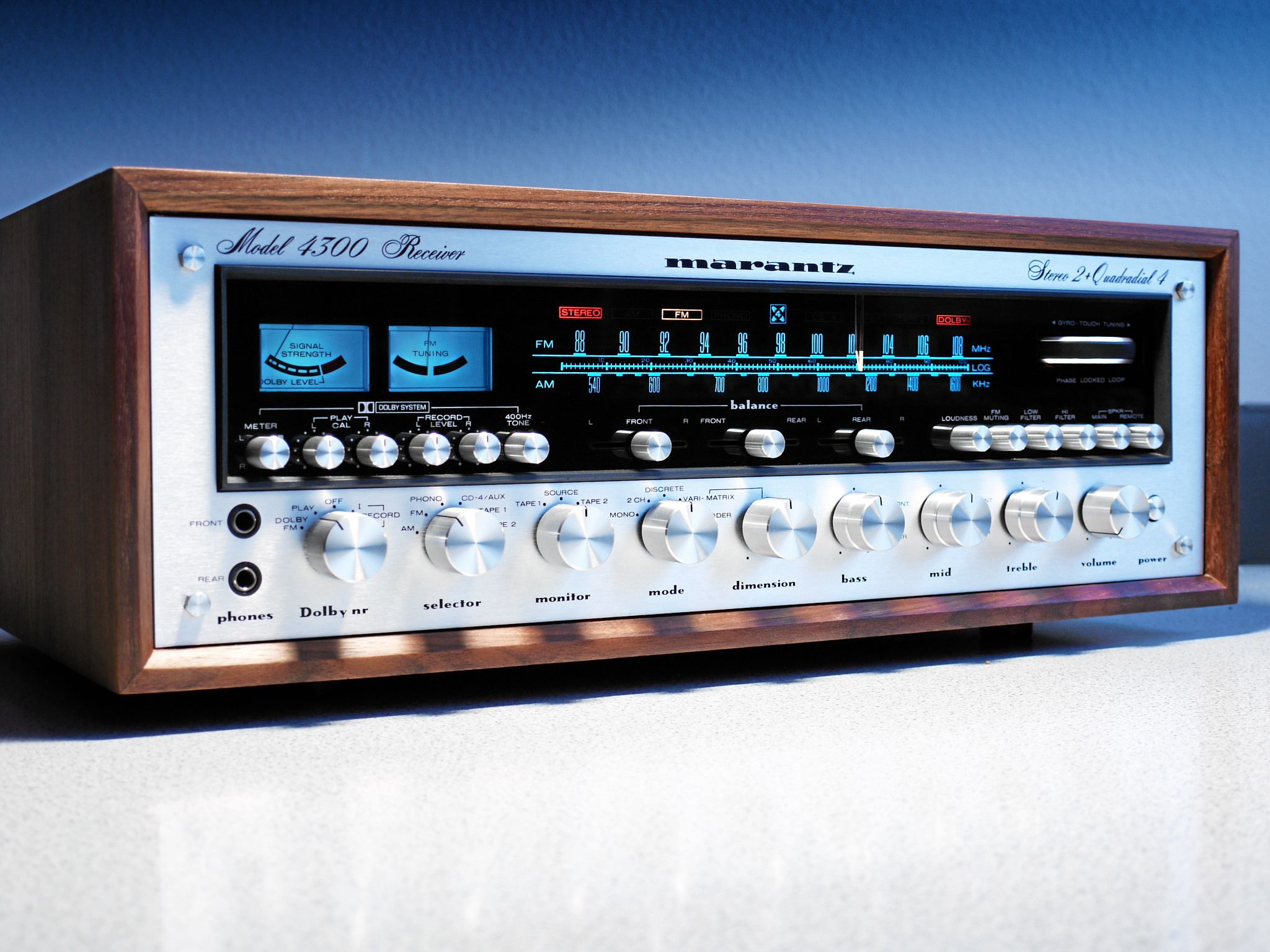 Marantz 4300 Quadrophonic Receiver #audiovideo