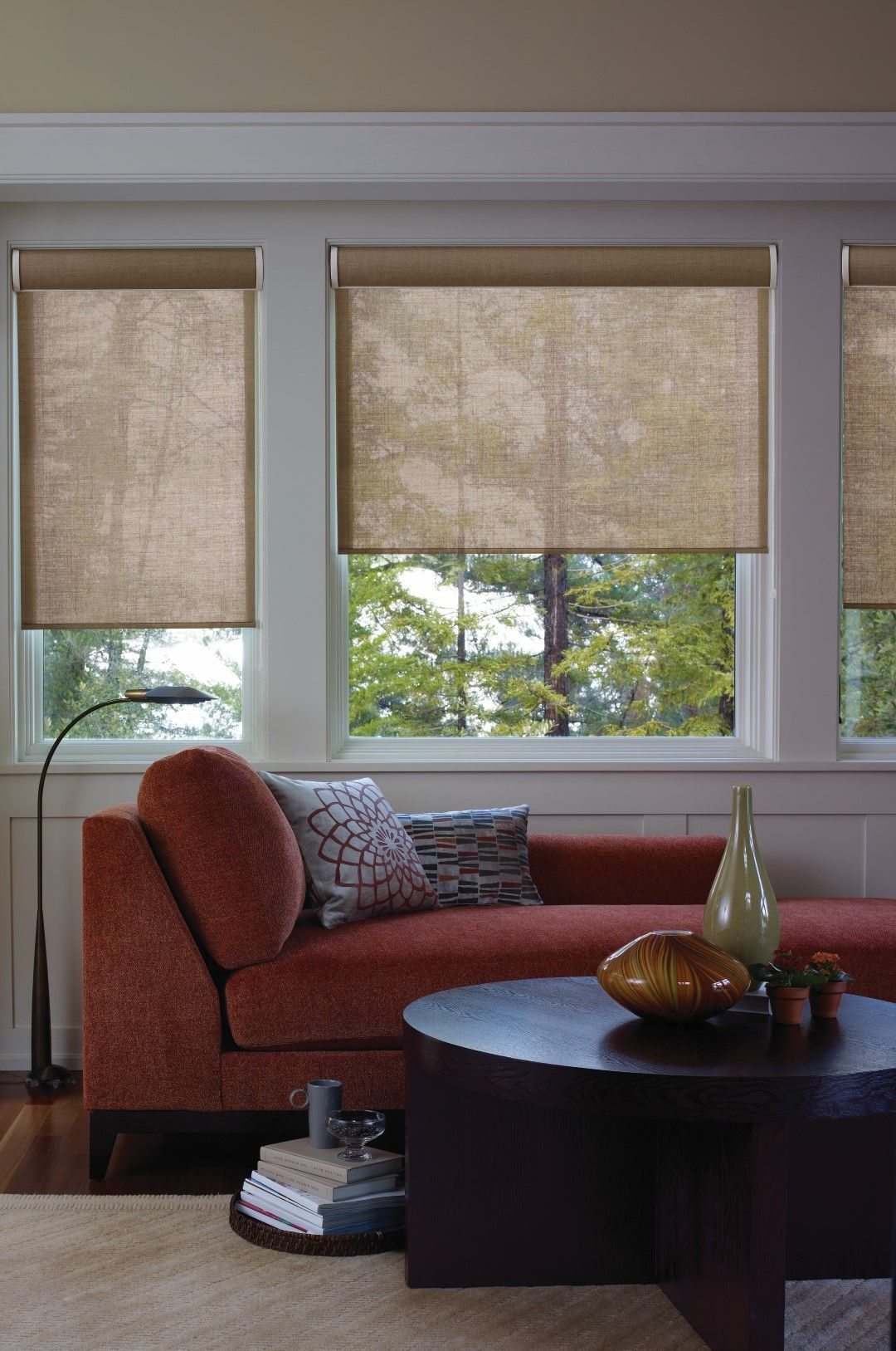 Exotic roller shade makes operation convenient home inspiration