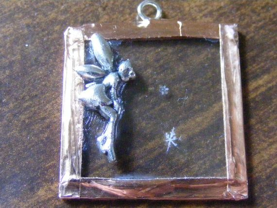 real snowflake little fairy by CountryIvyCreations on Etsy, $27.00