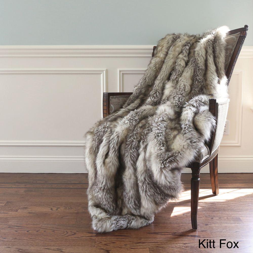 Faux Fur Throw Blanket