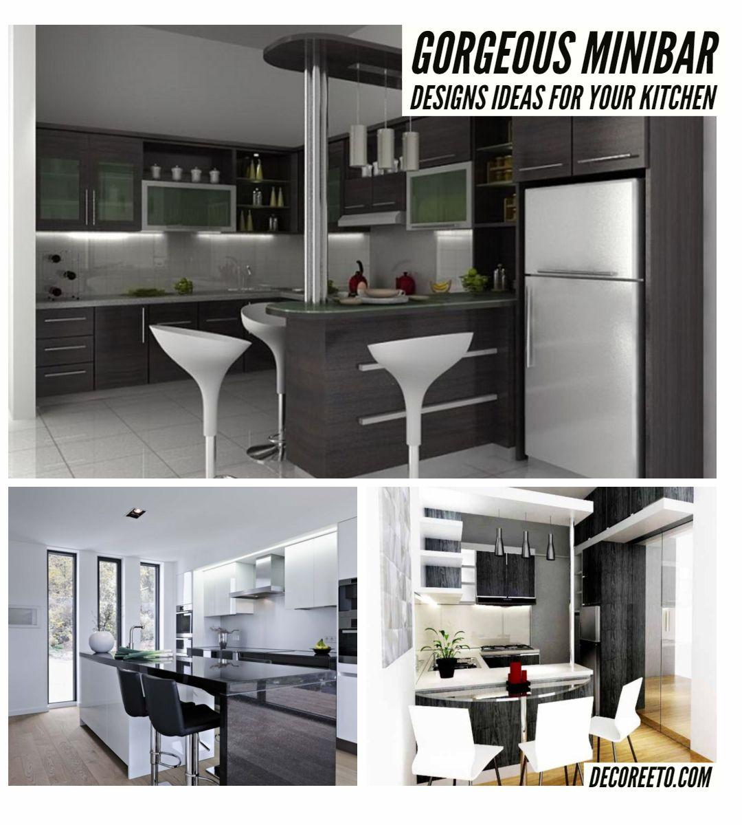 Brilliant 9 Gorgeous Minibar Designs Ideas For Your Kitchen https ...