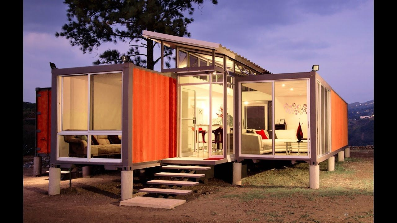 What You Can Do With Old Shipping Containers. Amazing