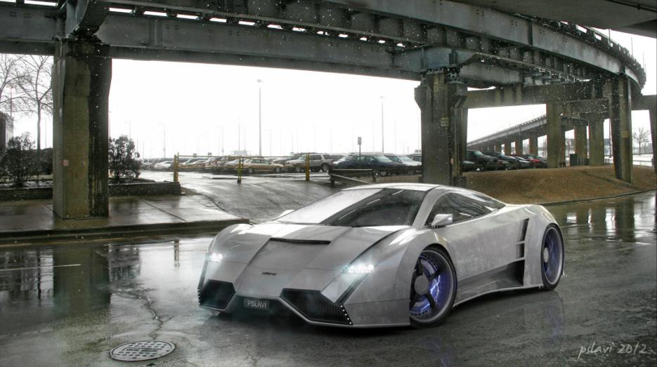 Dominus Electric Hub Supercar Concept Concept Cars Supercars Concept New Car Photo