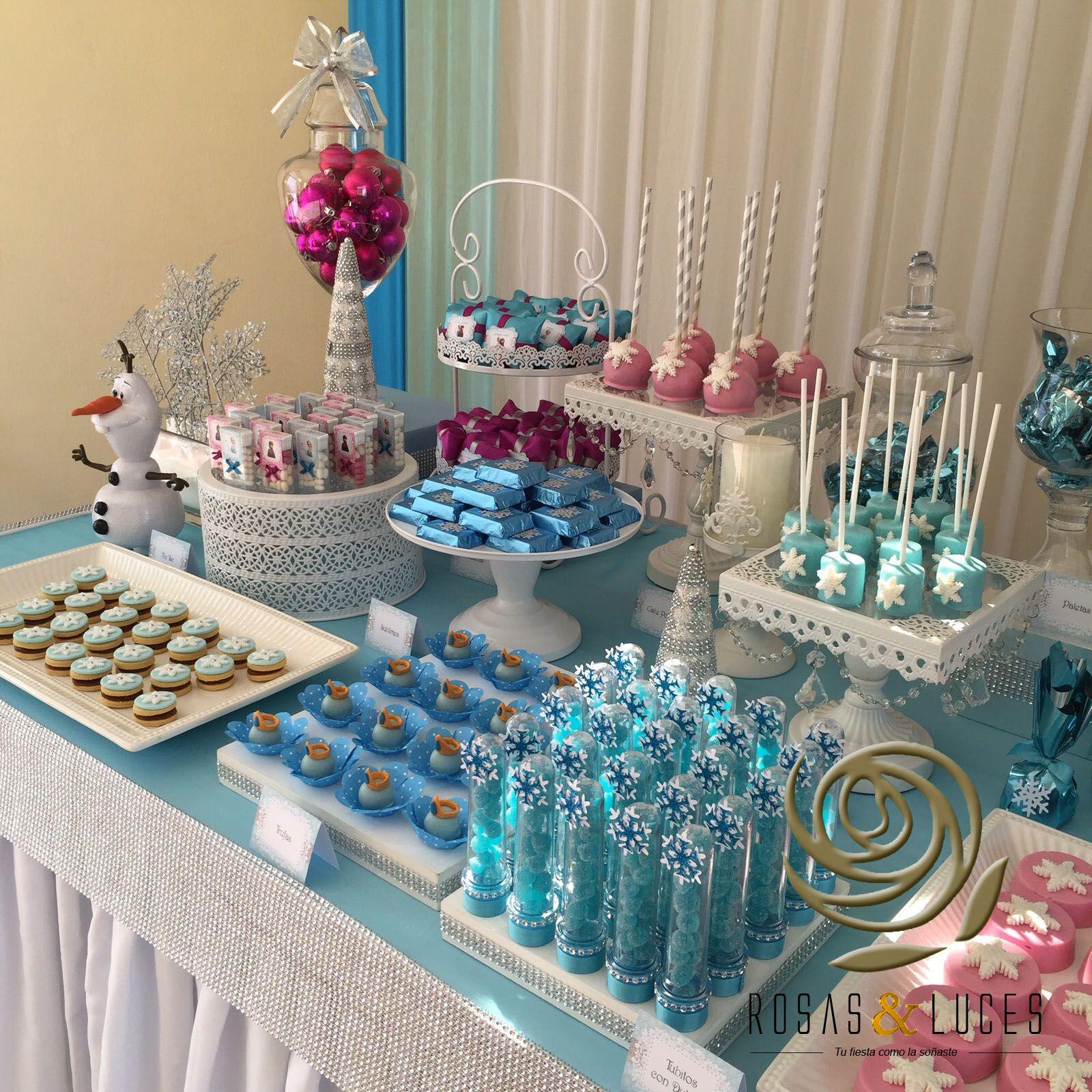 Decoraci n de fiestas frozen frozen pinterest - Decoracion party ...