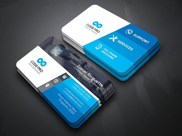Computer repair business card by create art on creativemarket computer repair business card by create art on creativemarket business card templates business cards cheaphphosting Image collections
