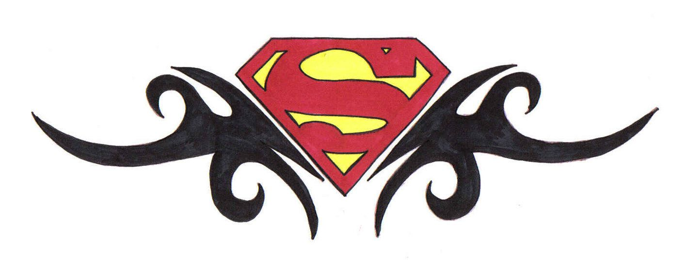 Superman Tribal Design 1 by phantaz on DeviantArt | Tattoos ...