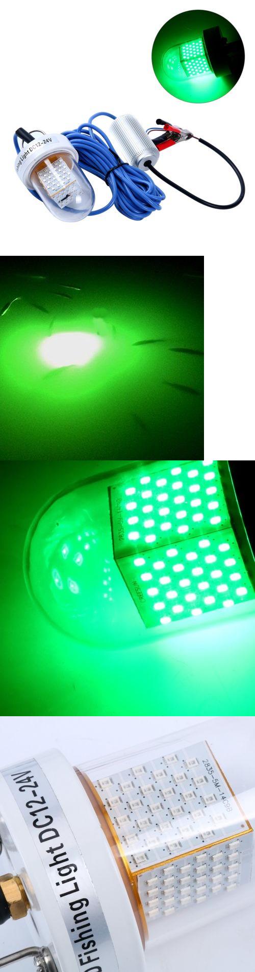 lights 123489: marine/boat green led 12v24v 60w lure bait finder, Reel Combo