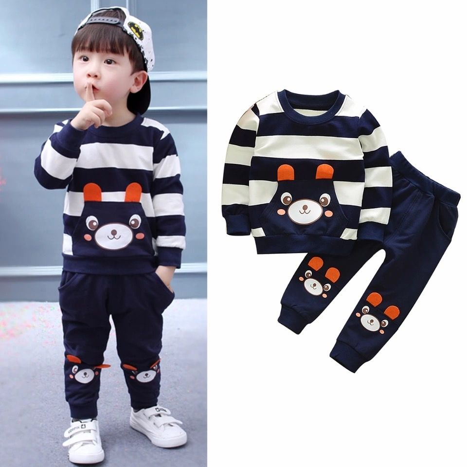 4ddedd93511ac Cool, soft and comfortable looks for your little boys. New Bear Kids ...