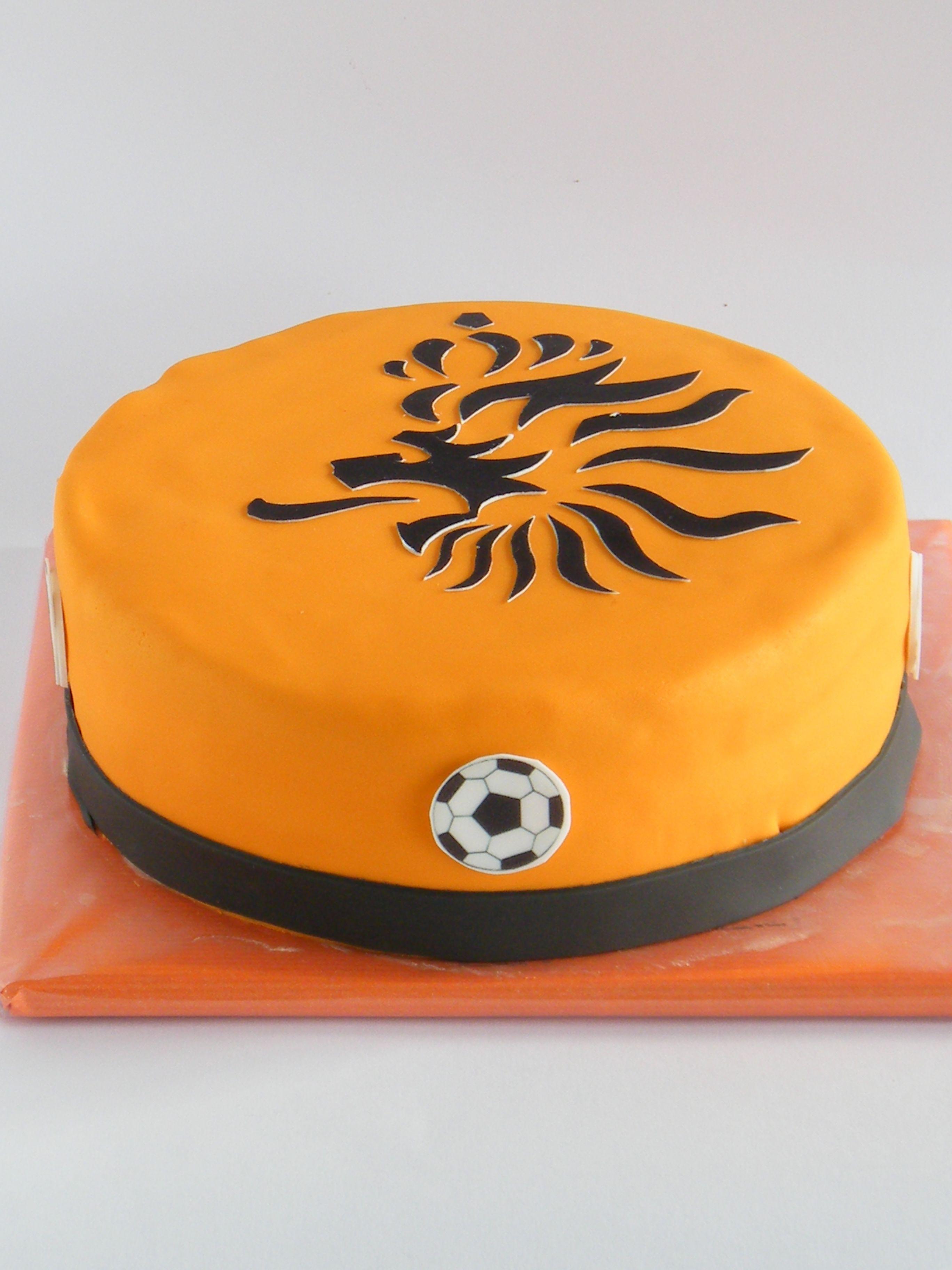 Dutch EK cake