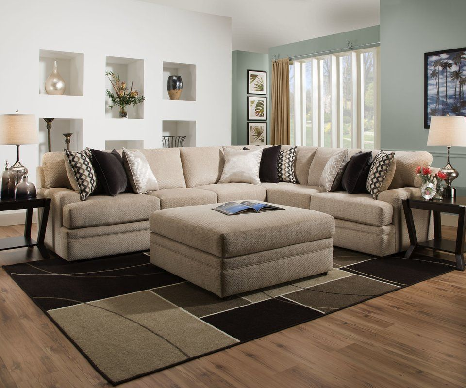 Hypnos Simmons Upholstery Sectional Reviews Birch Lane