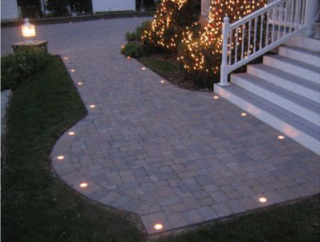 Lighting For Your Driveway Or Patio Paver Lighting