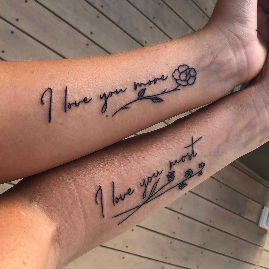 48 Meaningful Mother-Daughter Tattoos To Honor Her Unconditional Love