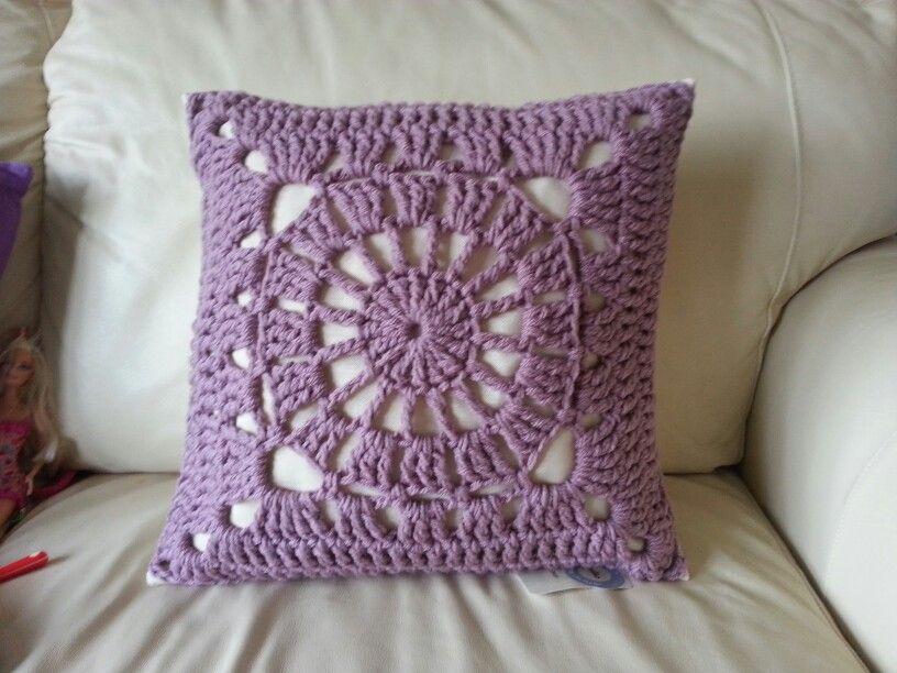 crochet cushion | almohadones crochet | Pinterest | Pufs, Moda ...