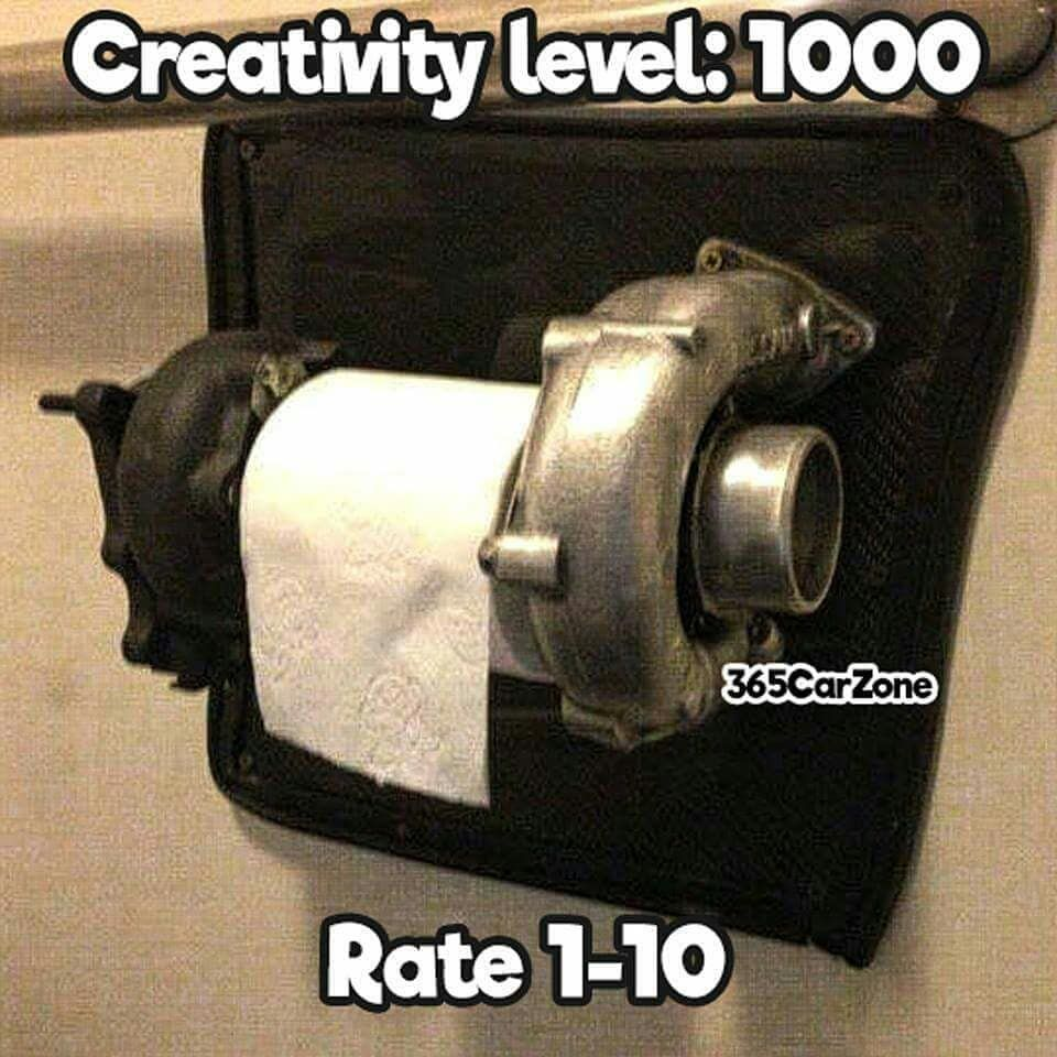 Most Expensive Toilet Paper roll holder ever... Tag a friend who ...
