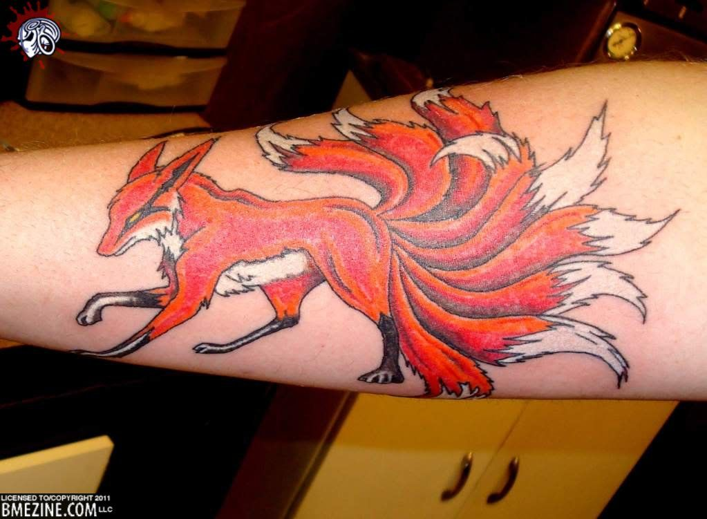 naruto nine tails tattoos images galleries with a bite. Black Bedroom Furniture Sets. Home Design Ideas