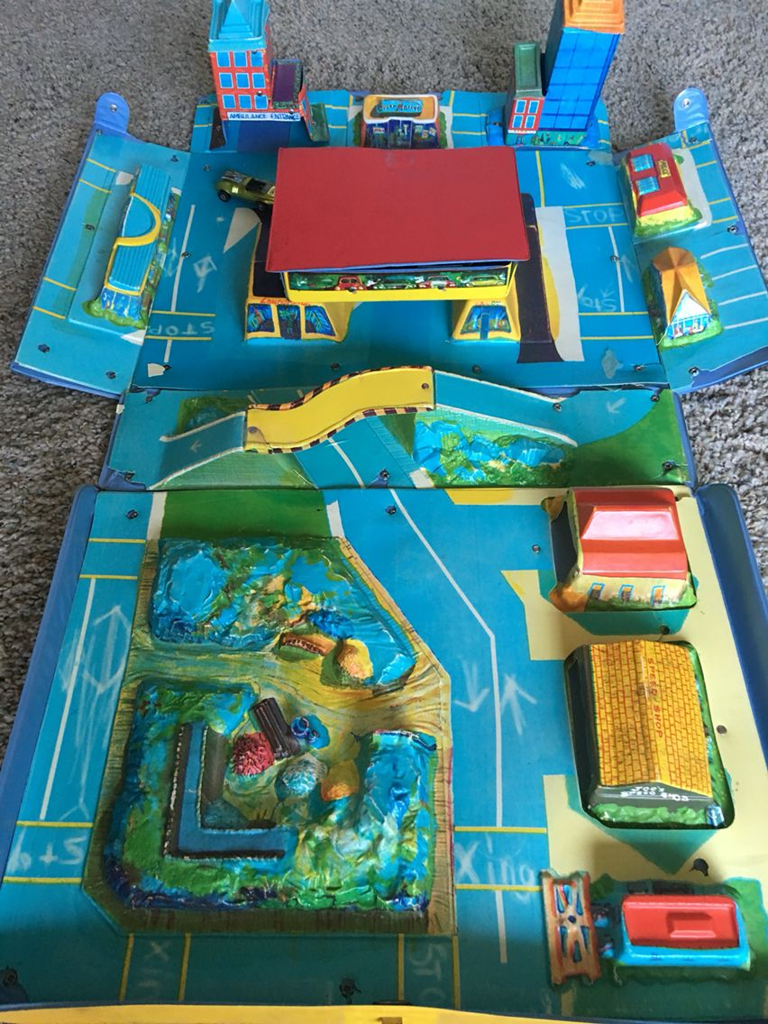 Matchbox City. Ca. 1968 Childhood toys, Old toys