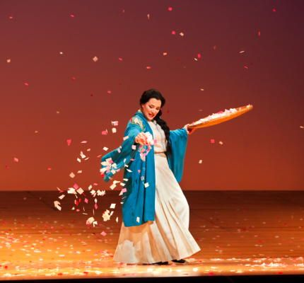 Patricia Racette as Cio-Cio-San in Madama Butterfly (2009)