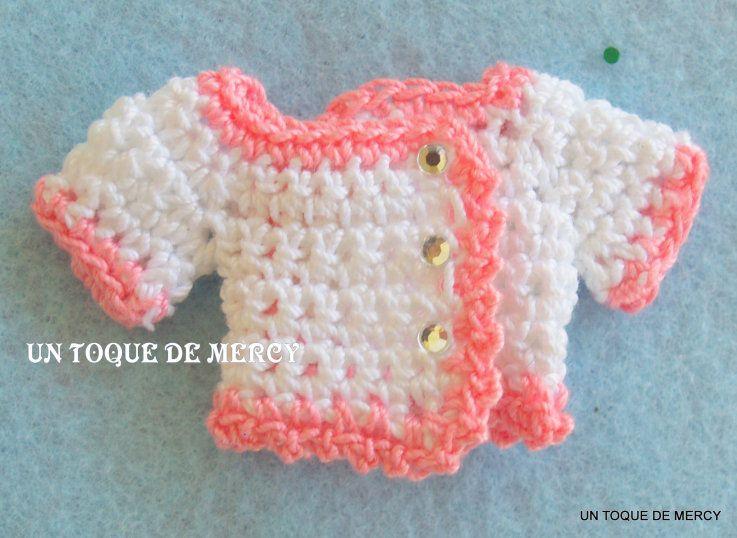 Como hacer recuerdos para baby shower de niña tejidos a crochet ...