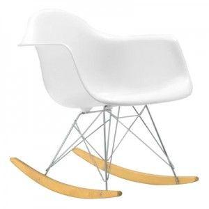 chaise à bascule rar de charles eames (en fibre de verre avec ... - Chaise A Bascule Charles Eames