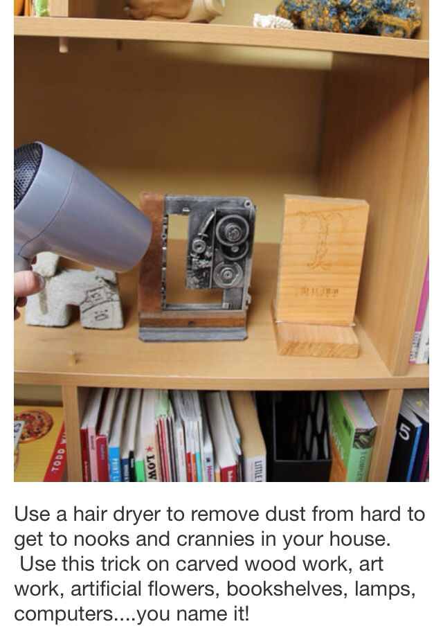 Remove Dust From Hard To Reach Places