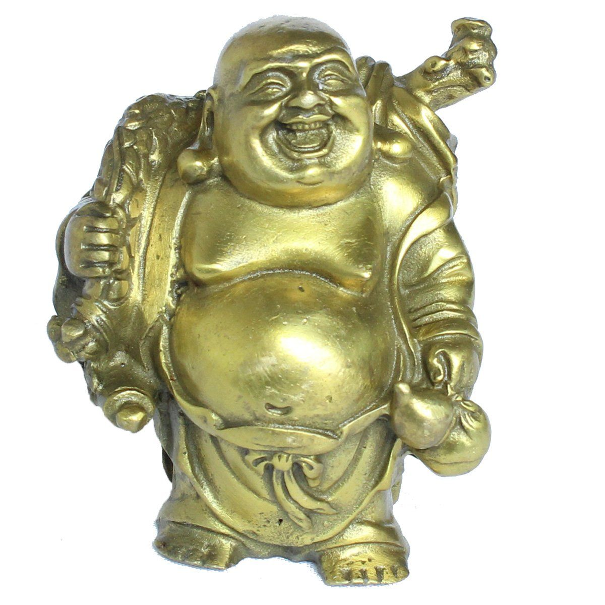 Happy mini lucky buddha fun unusual Christmas gift birthday gift idea