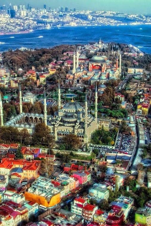 The Blue Mosque and Hagia Sofia, Istanbul