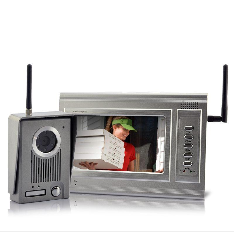 Metal Guardian - 7 Inch Screen Wireless Video Door Phone ...