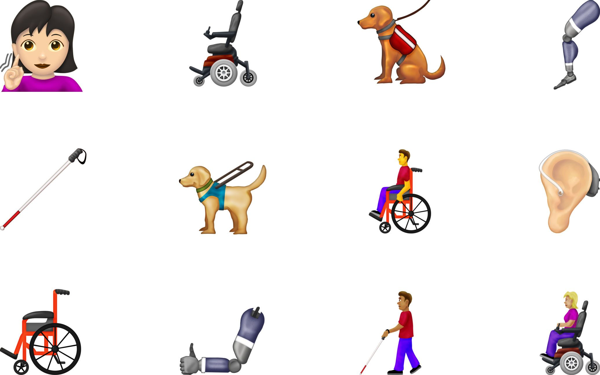 New Emoji Include People With Disabilities