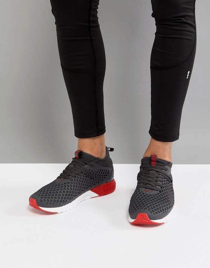 Puma Ignite Dual Netfit Sneakers In Red