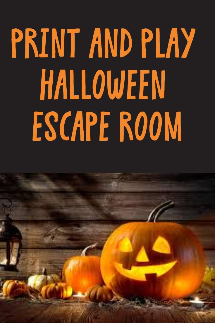 Escape game kit 1st house escape room children and