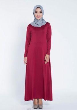 Jilbab Yang Cocok Untuk Baju Warna Maroon