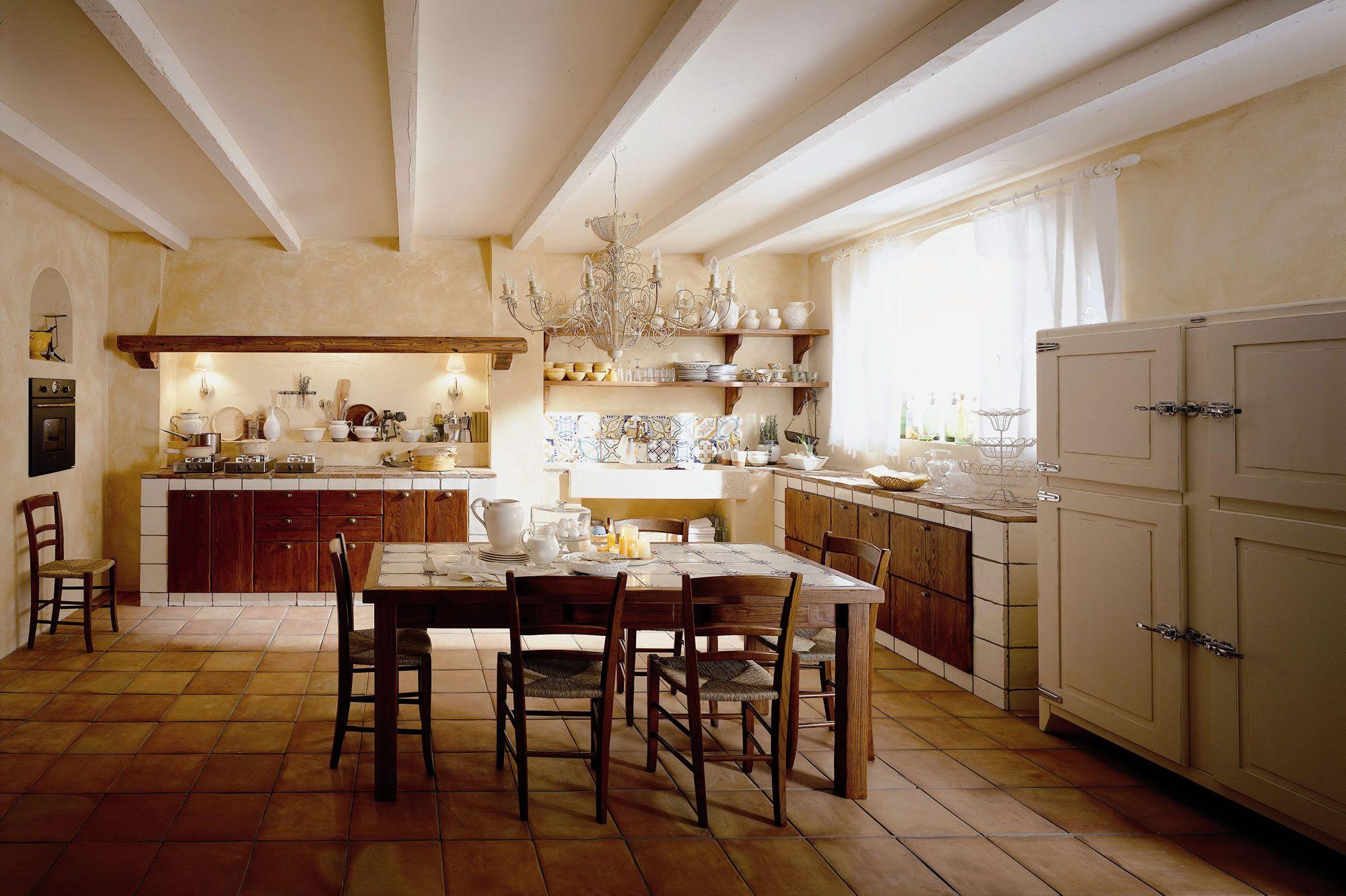Cucine Componibili Siena.Cucine Country Chic Componibili In Legno Ecologiche Valdelsa