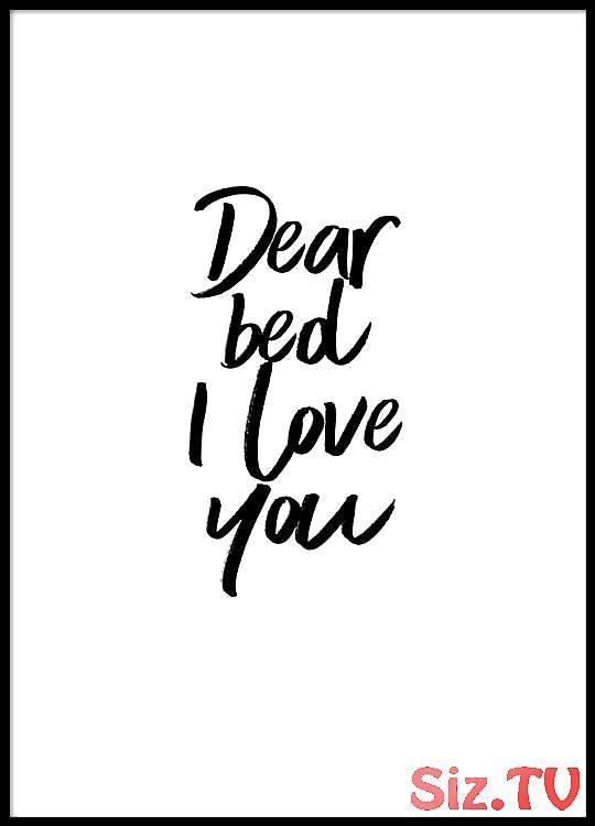 Dear bed Poster in der Gruppe Poster / Größen und Formate / 30x40cm bei Deseni...,  ... Dear bed Poster in der Gruppe Poster / Größen und Formate / 30x40cm bei Deseni...,
