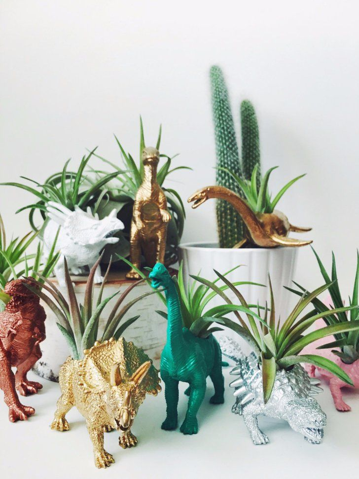 If You Re Shamelessly Dinosaur Obsessed You Ll Love These 11 Desk Accessories Homemade Home Decor Succulent Garden Diy Unique Home Decor
