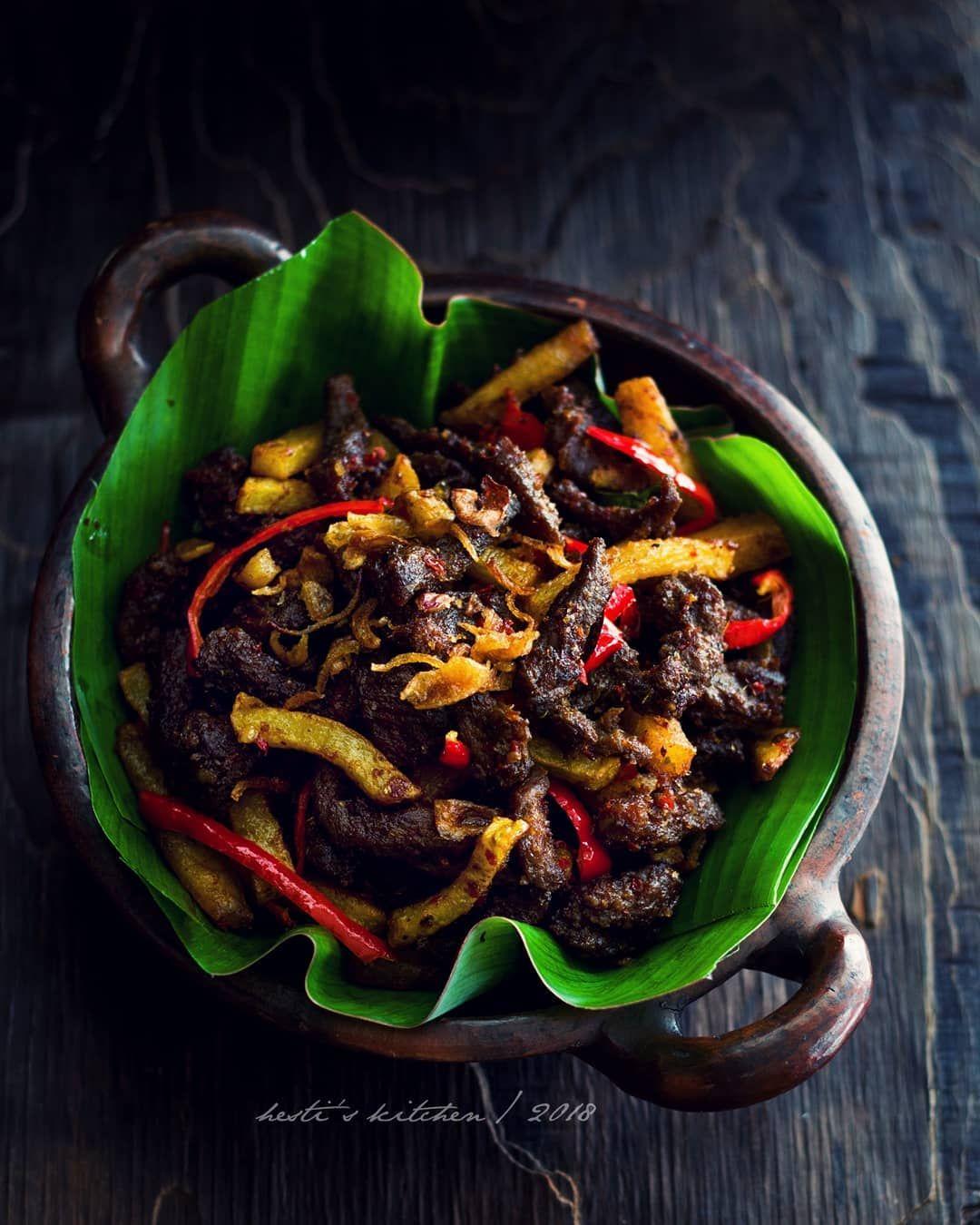Hestihh Di Instagram Sambel Goreng Daging Resep Masakan Mama Favoritku Uenaaaak Empuuuk Lembut Dagingnya Ketemu Bumbu Yg Sedikit Manis Aroma Lengkuas