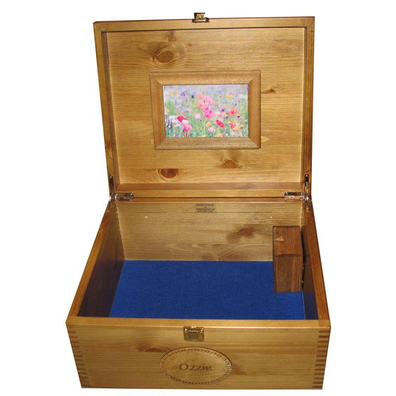 Musical Memory Keepsake Boxes Large – Personalised – Music Box ...