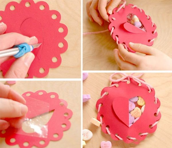 Valentines Gift Wrapping Ideas Homemade Valentine S Day Gift Idea Heart Of Roses And