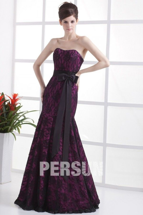Dressesmall Simple Lace Sweetheart Trumpet Long Formal Dress - Dressesmallau.co