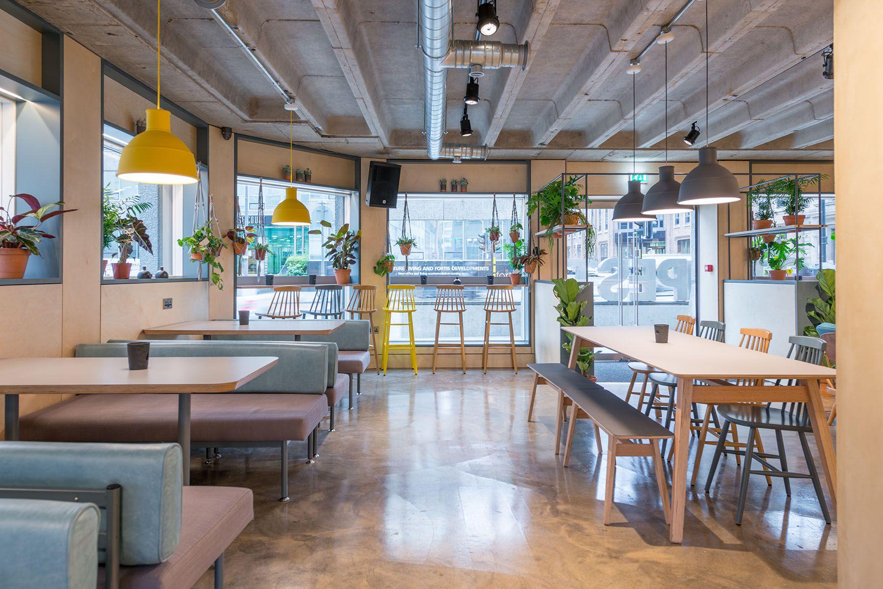 Scandinavian Style Furniture Design Cafe Bar Stylish Design  # Muebles Loverpool