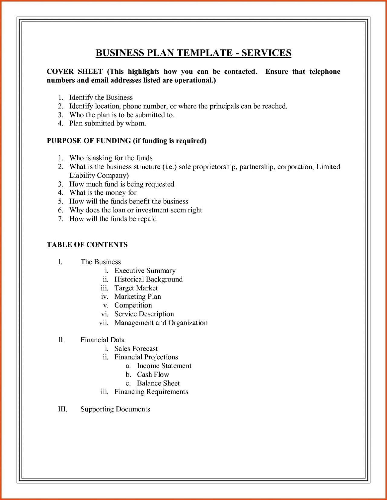 Download New sole Proprietorship Business Plan Template